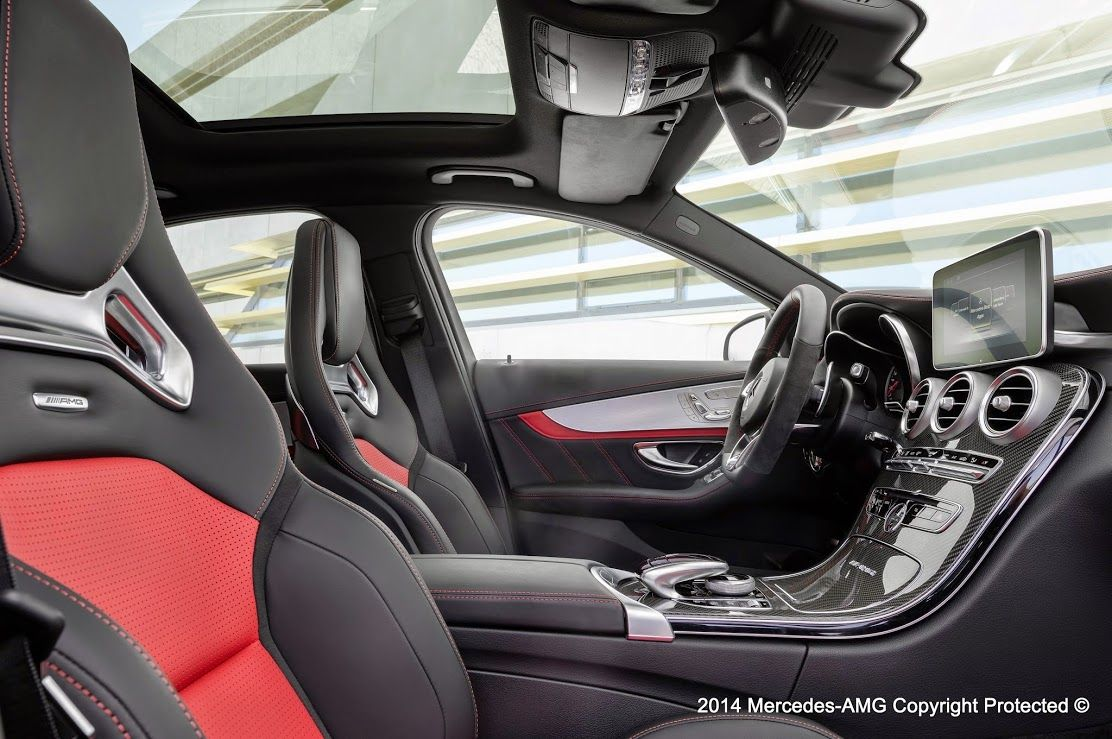 Scope The Interior On The New C63amg Wow Find Carbon Fiber Parts