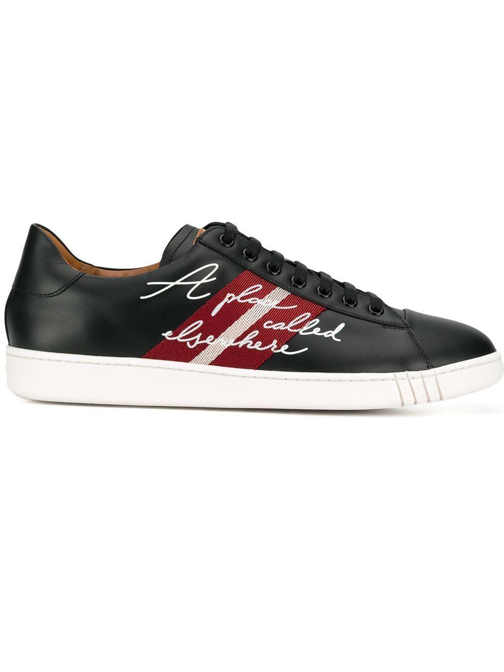 620e393550 BALLY BALLY WILSON SNEAKERS - BLACK.  bally  shoes Calf Leather