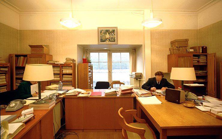 Ministere Des Finances Un Bureau Du Personnel Bureau Finance Louvre