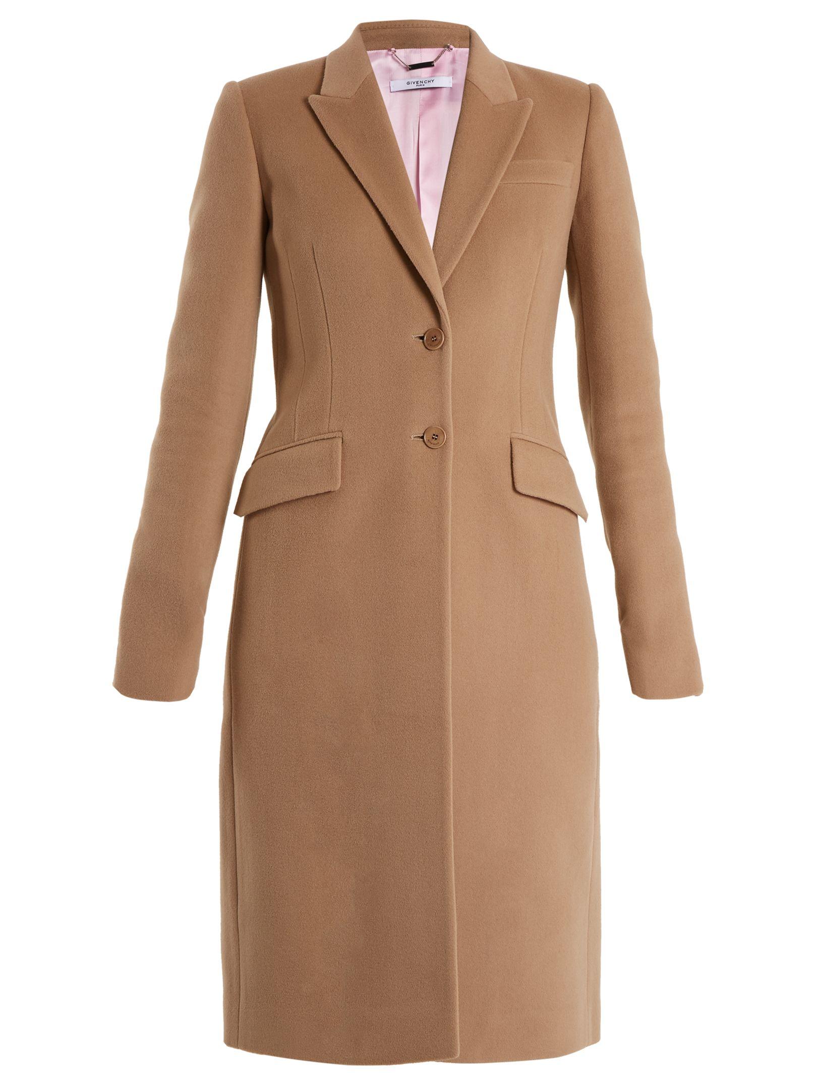 Wool Blend Coat Herbst/Winter Alaia wWVVmUfSM