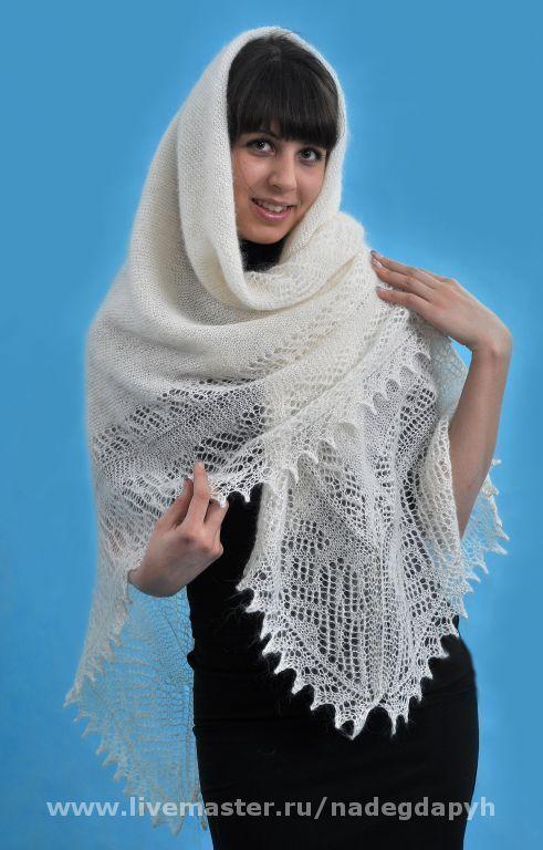 шаль оренбургский платок