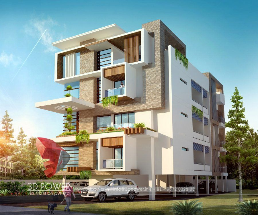 Home Design Exterior Ideas In India: Pin By 3D Power On 3D Ultramodern Design