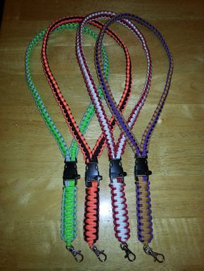 Paracord Lanyards Very Cool Parachute Cord Crafts Cords