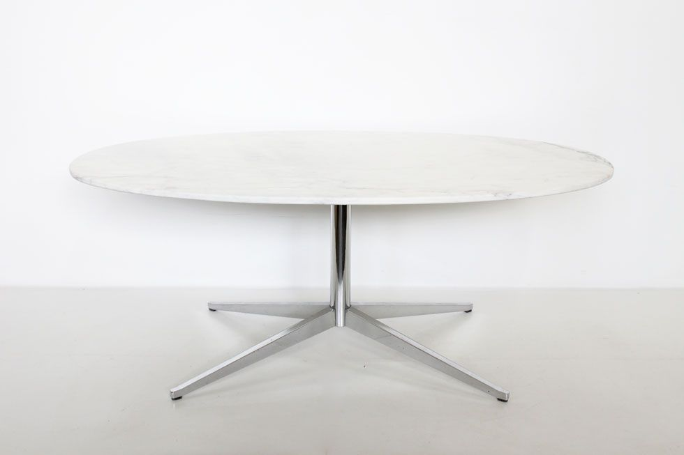 florence knoll calacatta marble table  https://www.galerie44.com/collection/mobilier/table-florence-knoll-modele-2480-avec-marbre-calacatta-blanc-by-knoll-1960-details