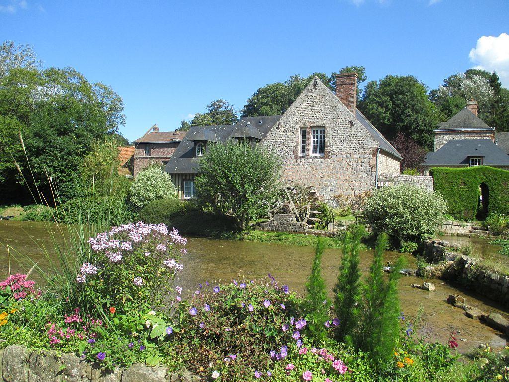 Location vacances maison St Aubin sur Scie: Veules les Roses