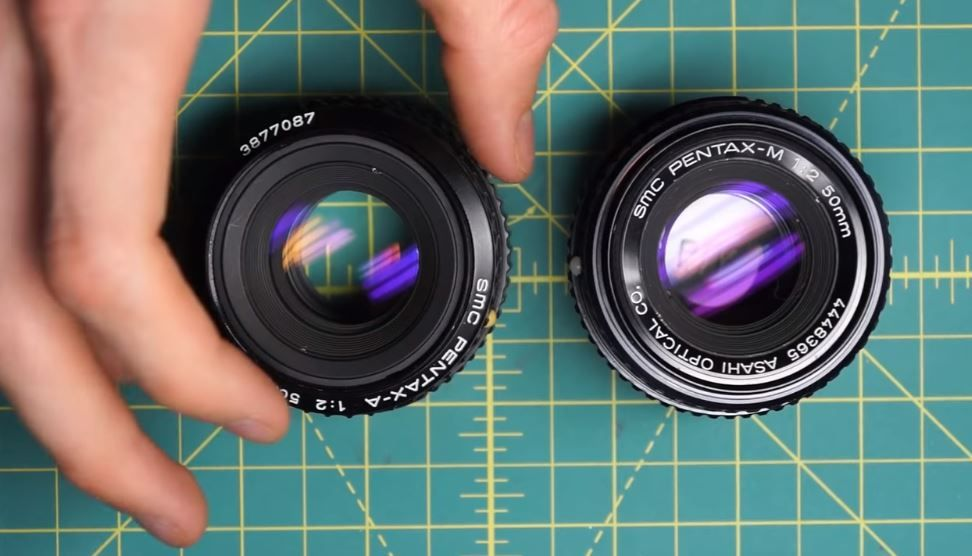 Smc Pentax M 50mm F1 7 F2 Take Apart Repair Fix Clean Video Vintagelens Pentax Cameras Vintage Lenses Pentax Repair Videos