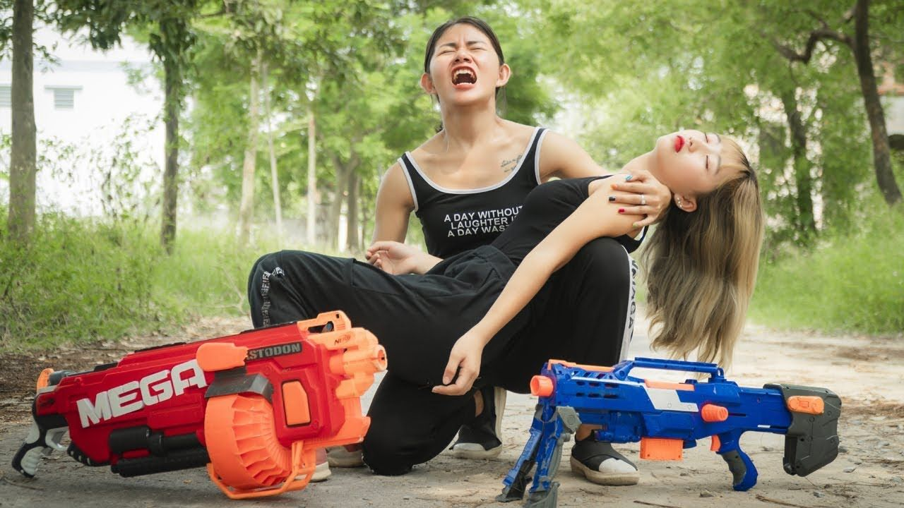 Pin on Xgirl Nerf Guns