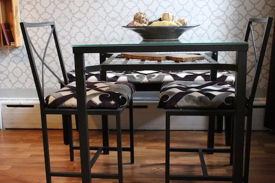 Dining Table Bench Idea