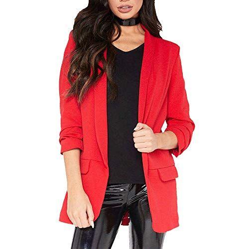 bf75ca0f5602f Workwear Soldes FemmeOverdose Automne Hiver Blazer Veste Casual Chic Slim  Jacket OL Style Suit