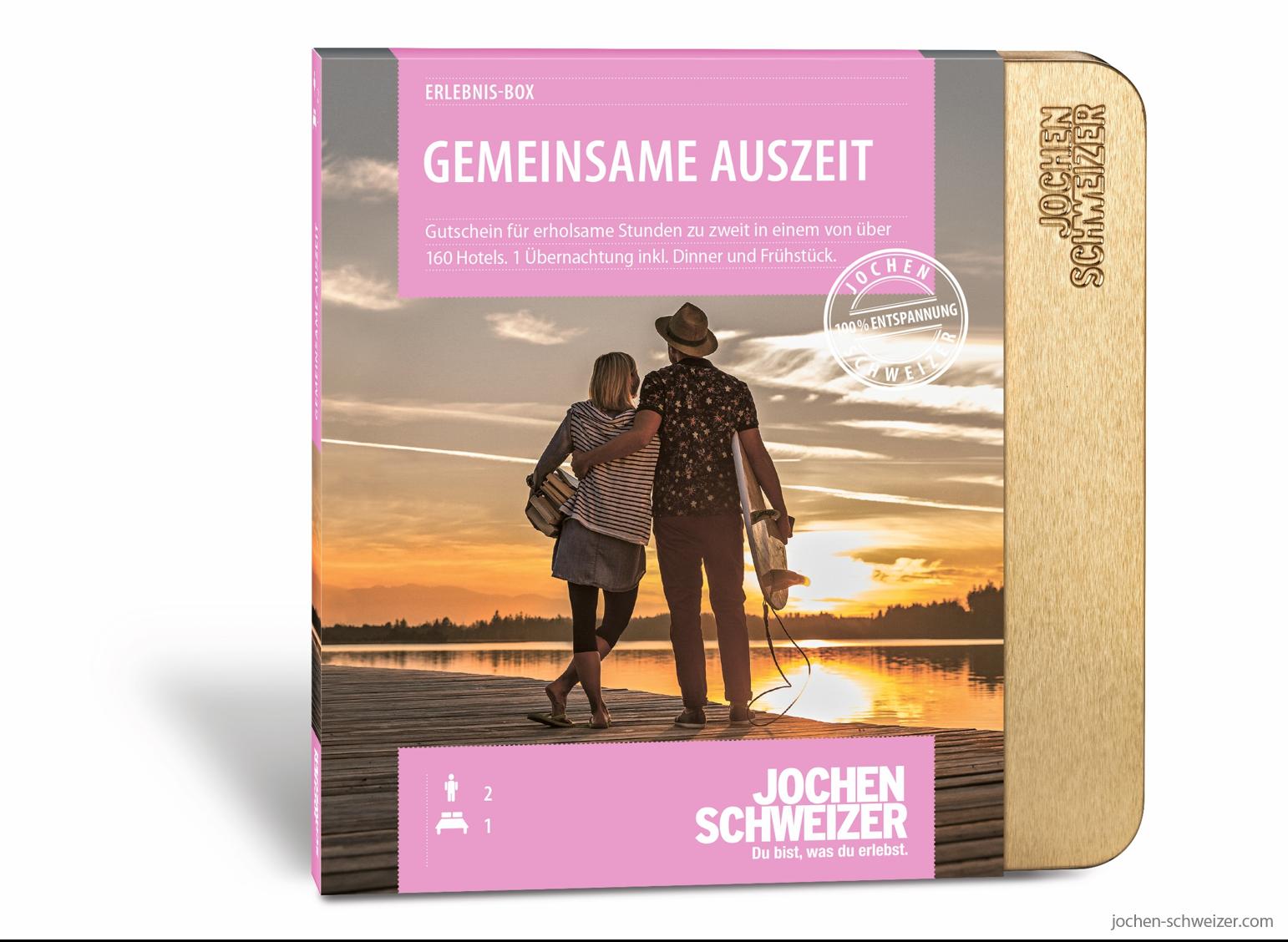 Erlebnis Box Gemeinsame Auszeit Fur 2 Hochzeitsgeschenke Pinterest
