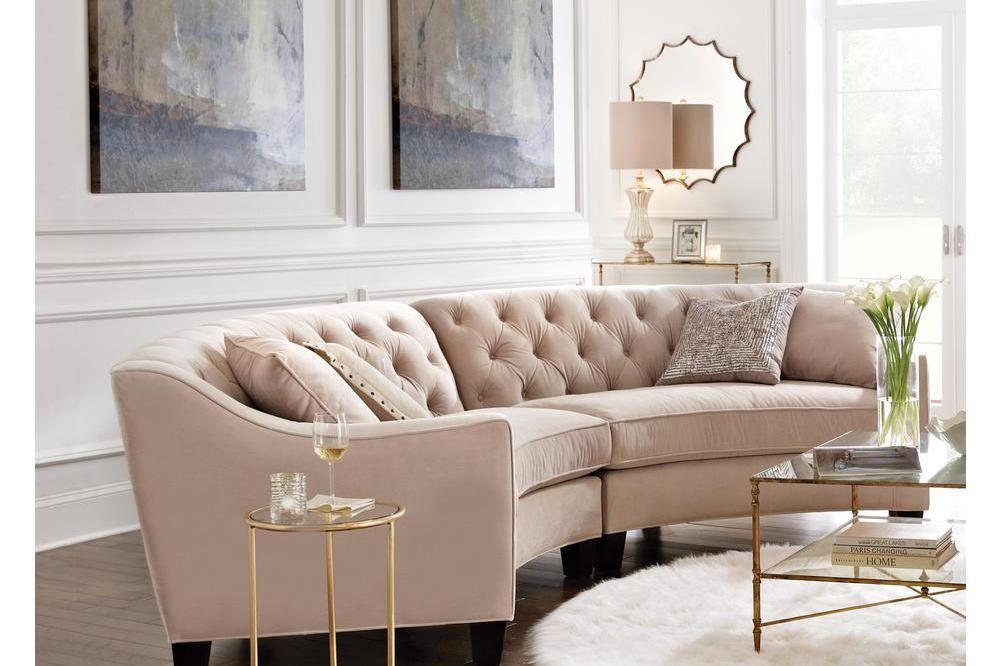 Tendência: 15 ambientes com sofá curvo | Sofá curvado, Sofá y Modelo