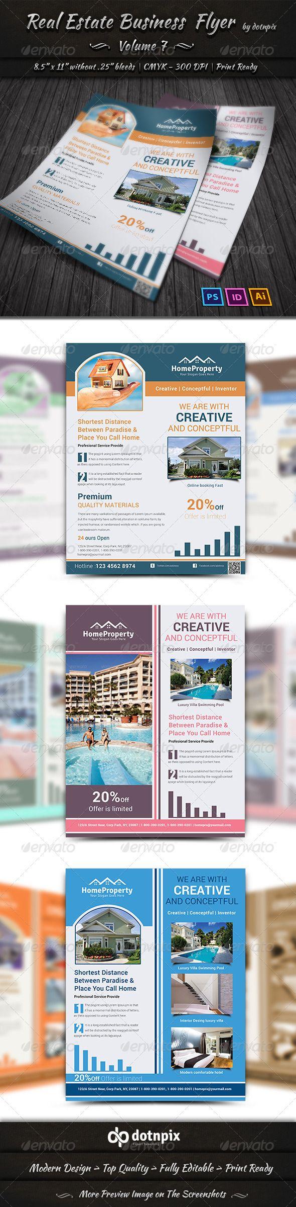 Real Estate Business  Flyer   Volume 7