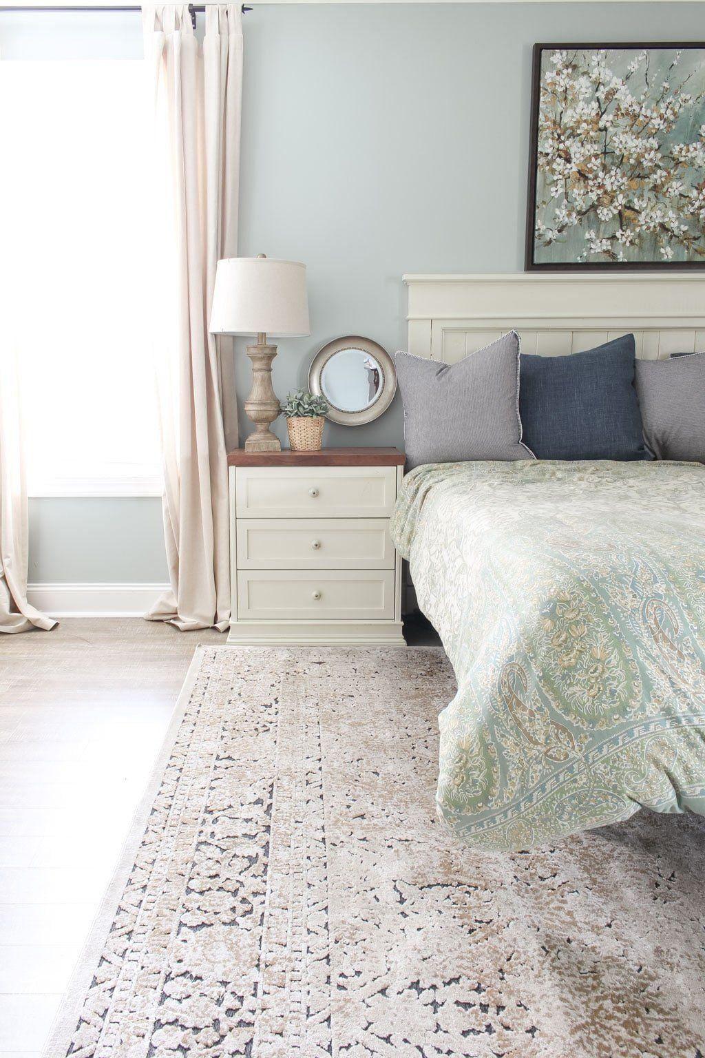 20 Bedroom area Rug Placement 1000 in 2020 Bedroom