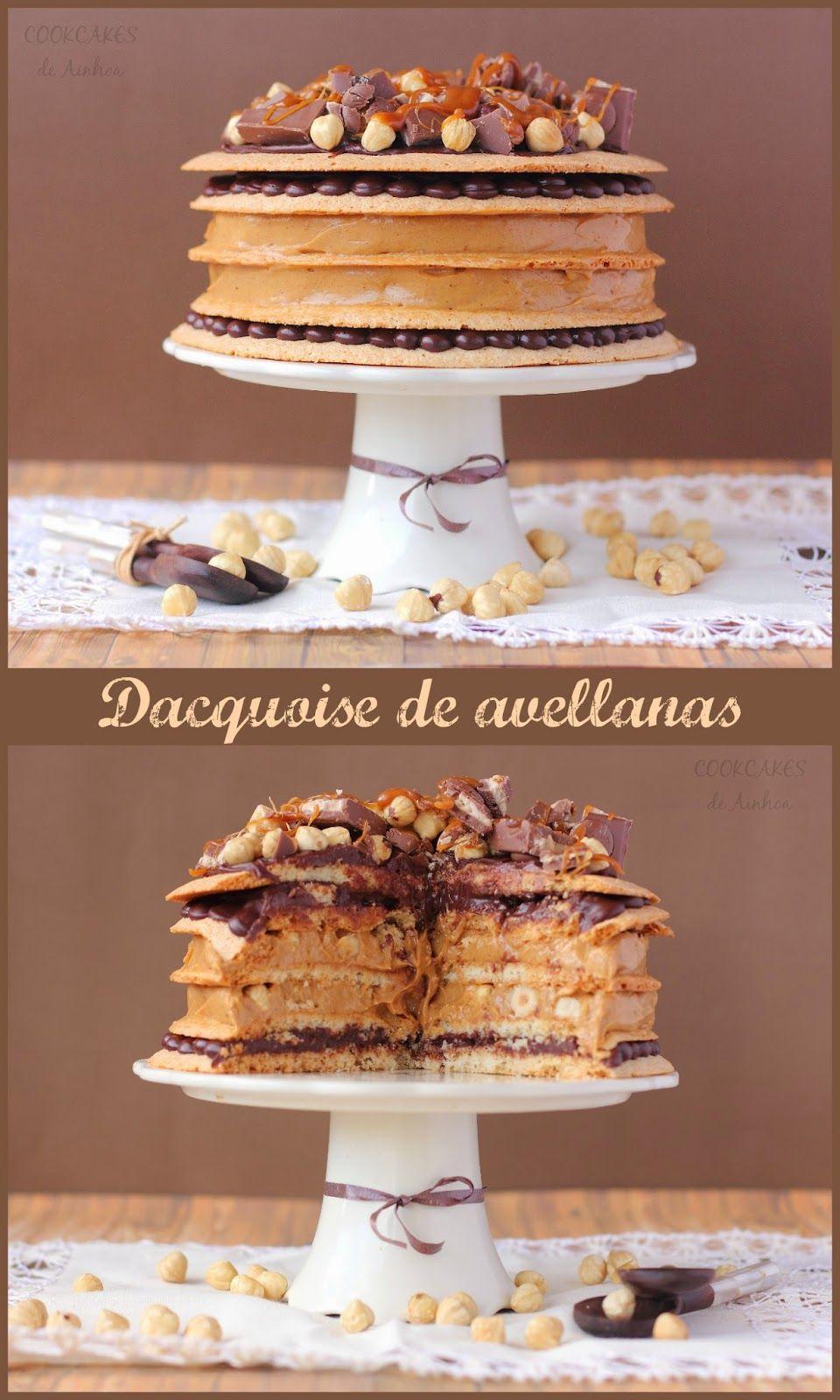 Cookcakes de Ainhoa: DACQUOISE DE AVELLANAS