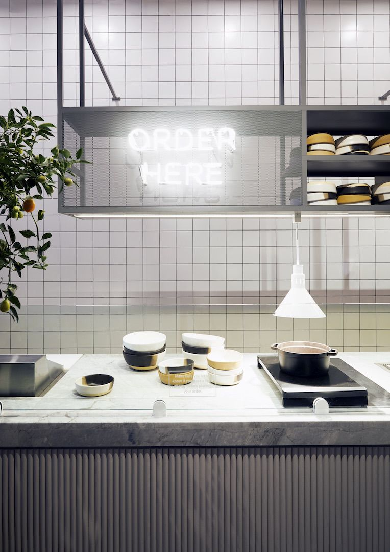 ASH NYC Designs Rye Brooks New Dig Inn Eatery  Commercial  Hospitality  Restaurant design
