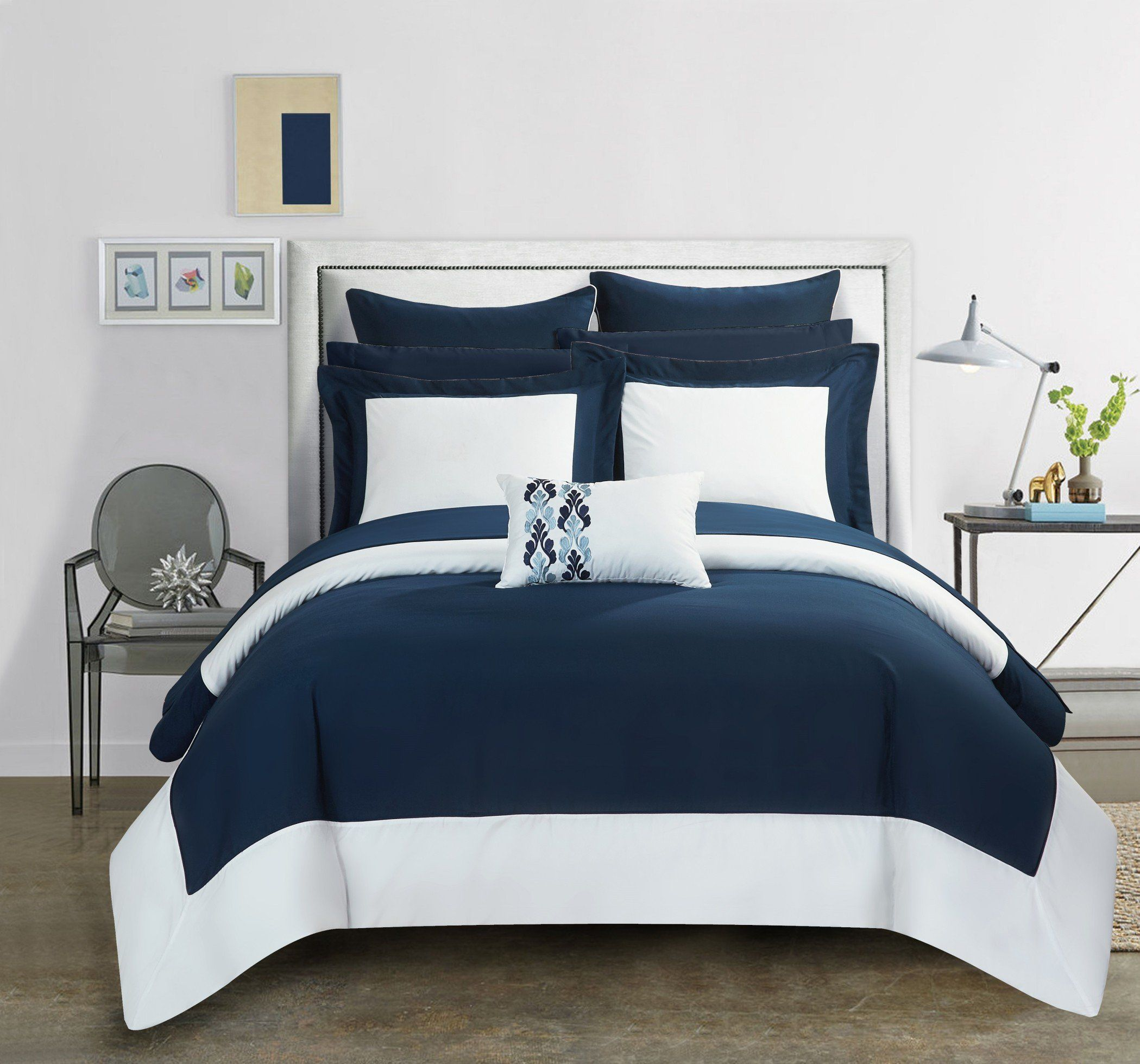 collection comforter in today bag set home bedding reversible sets free heldin hotel overstock product navy chic bath shipping bed piece a