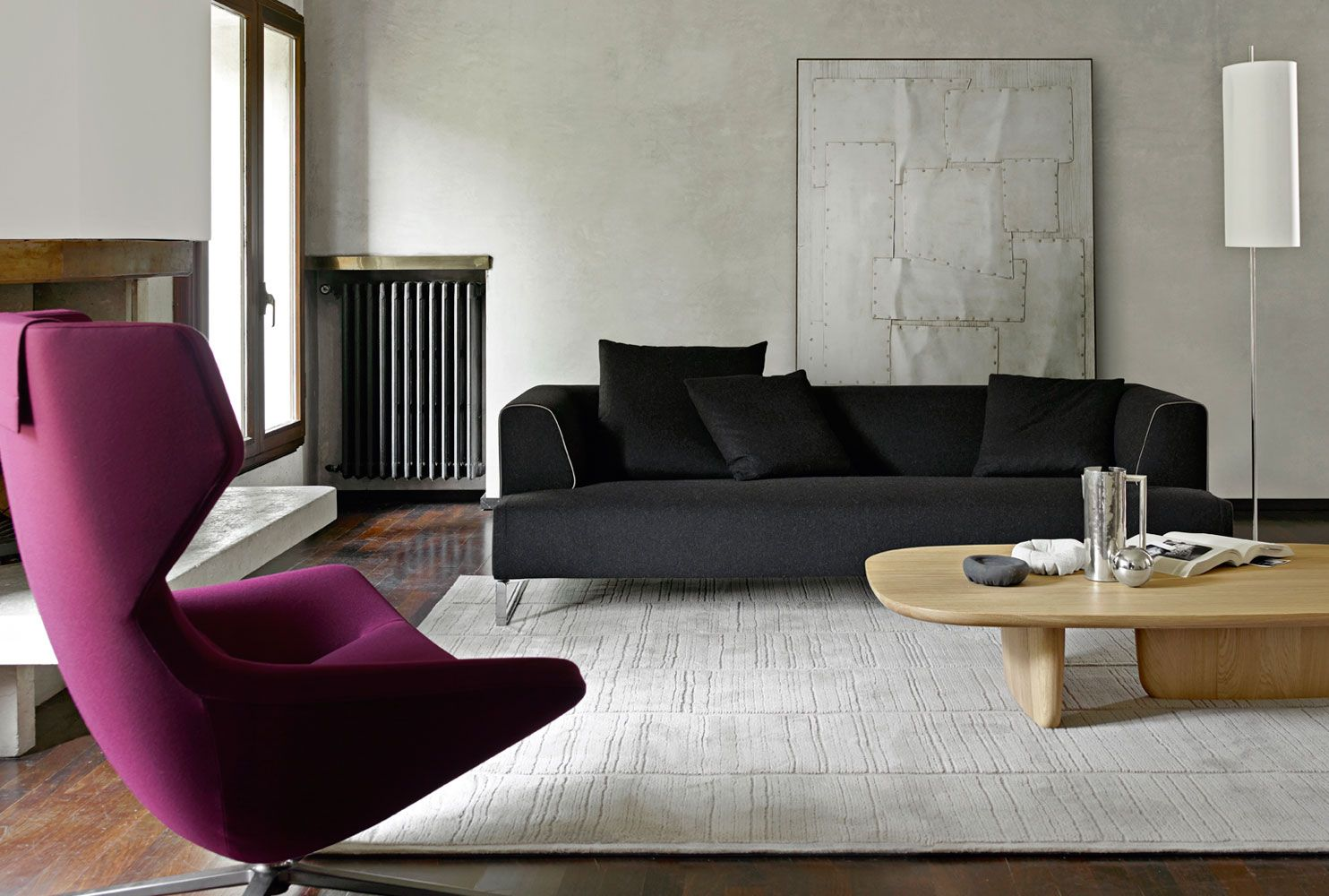 Sofa: SOLO \'14 - Collection: B&B Italia - Design: Antonio Citterio ...