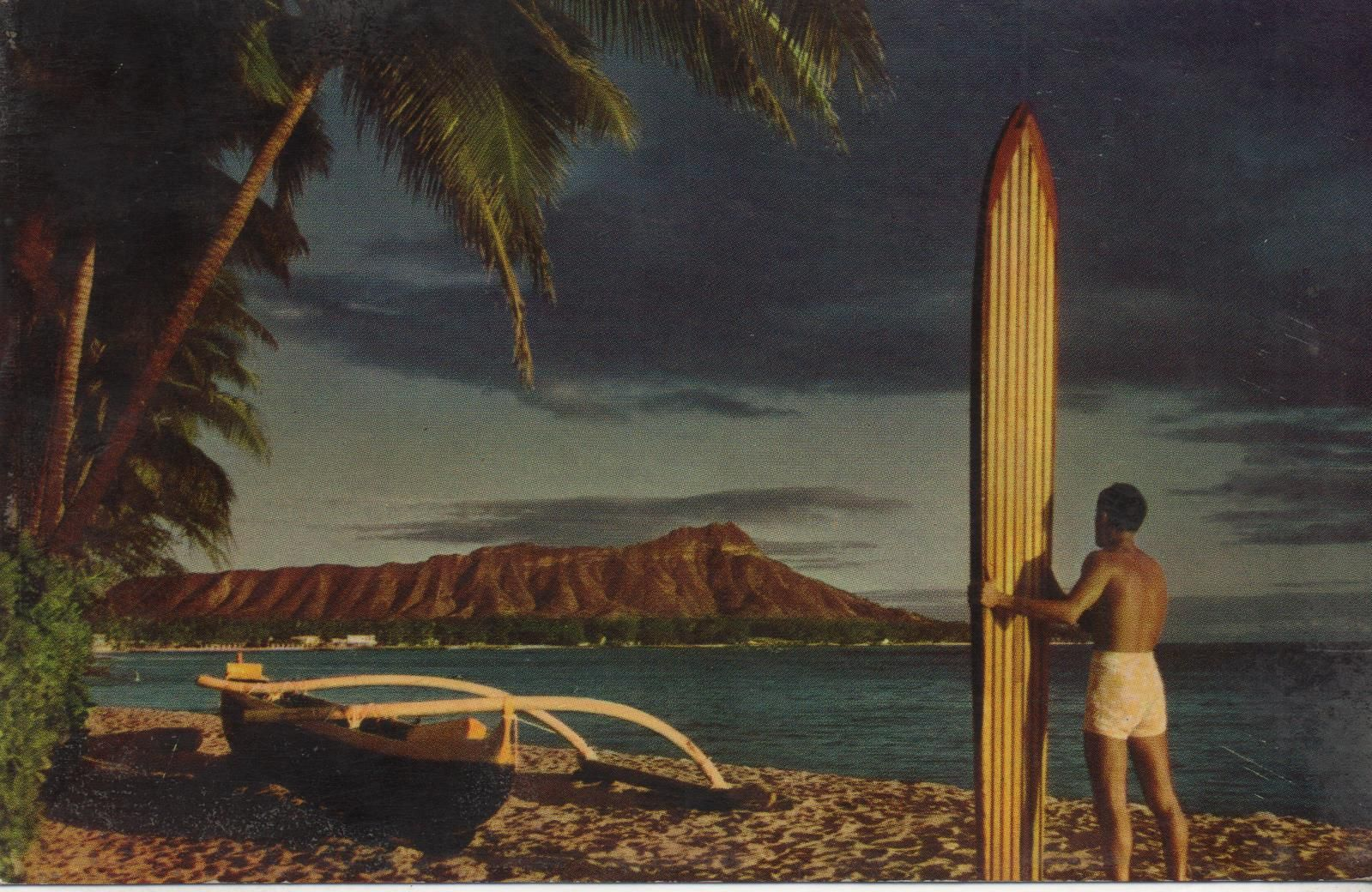 1954 Postcard. Hagins collection.