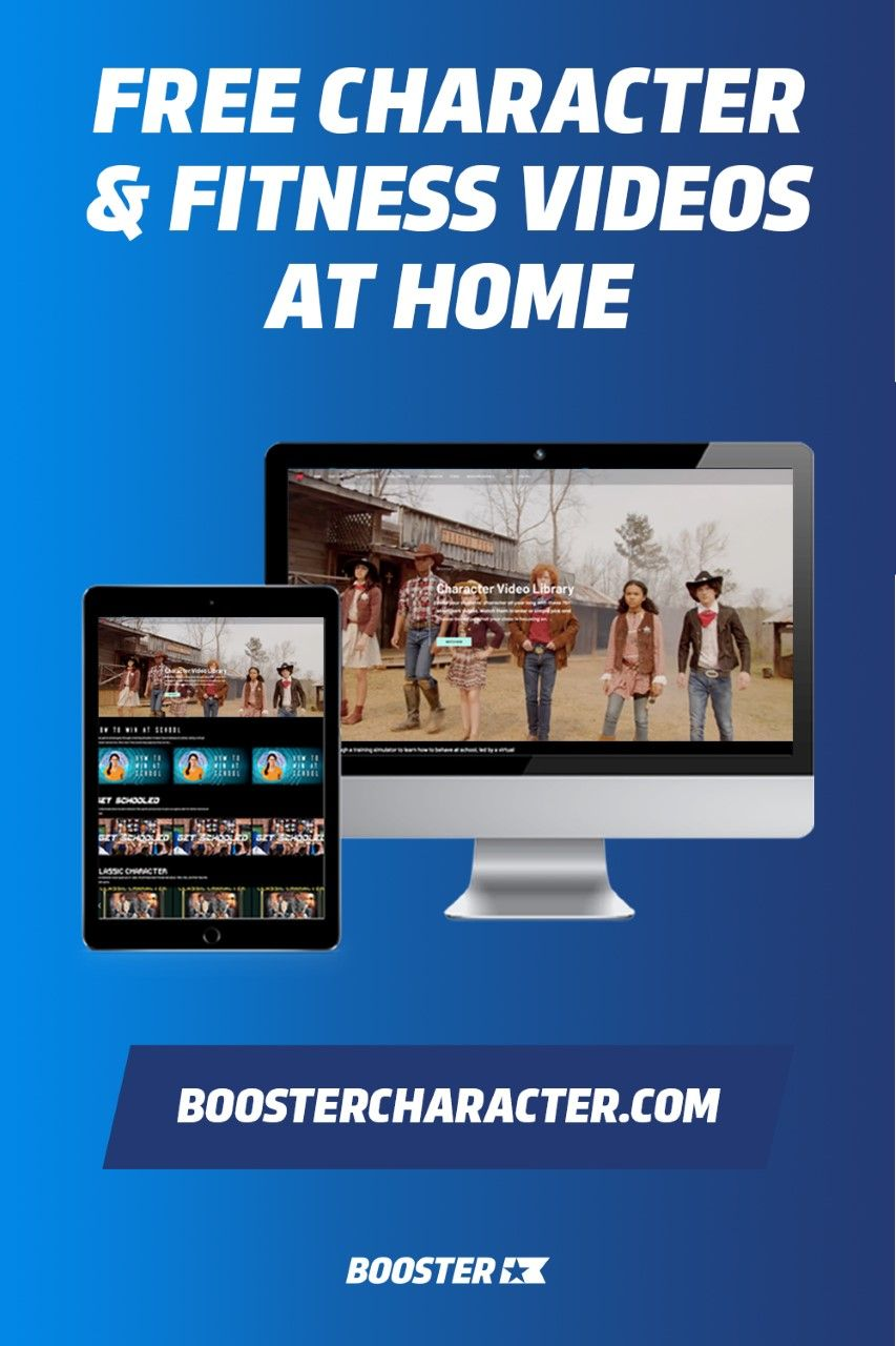 Free Character Fitness Videos At Home Character Lessons Online Fun School Closings