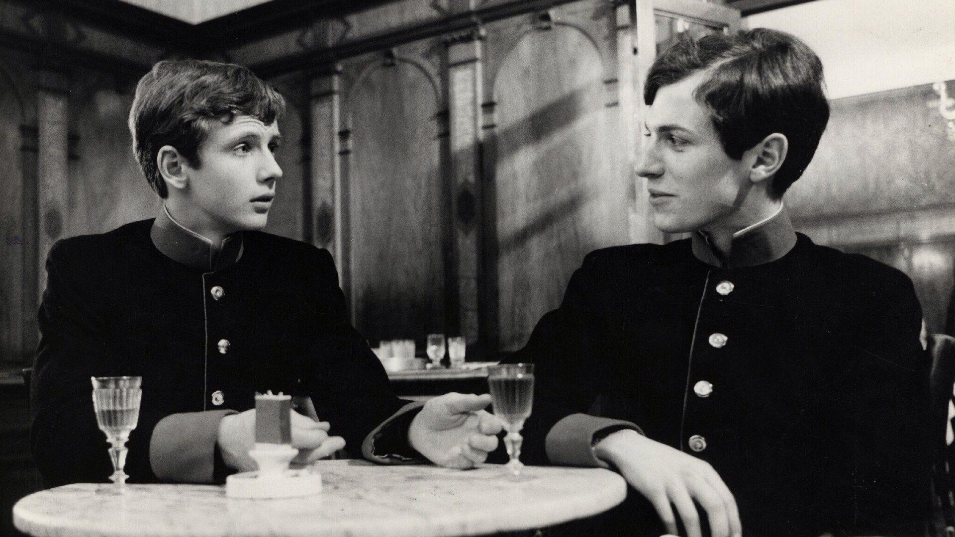 Mathieu Carriere And Bernd Tischer In Der Junge Torless By