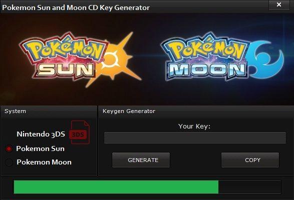 pokemon moon license key free