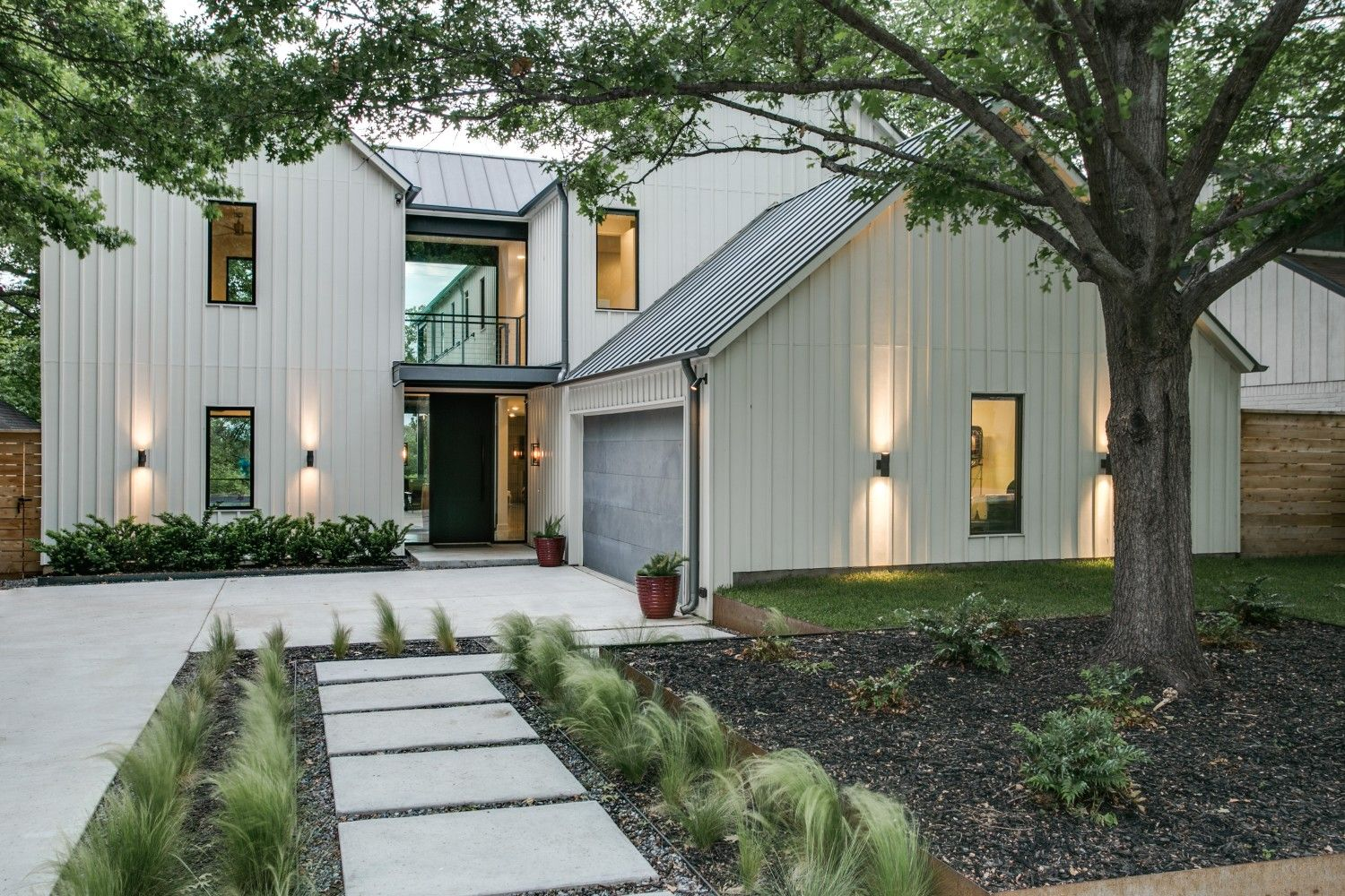 Attractive Exterior Wall Design Using Board And Batten Siding