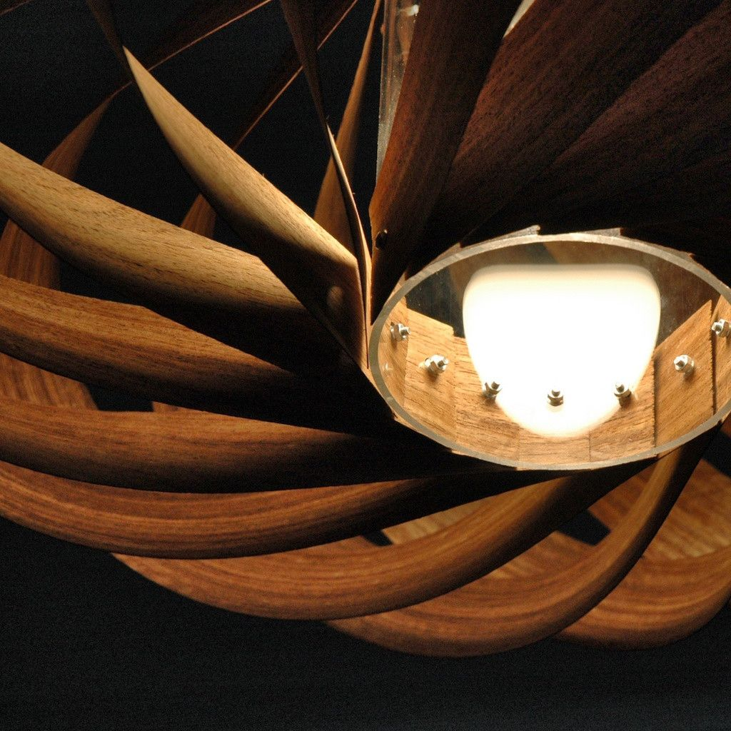 Furnier Lampe Etimoué | Ideen rund ums Haus | Pinterest | Furnier ...