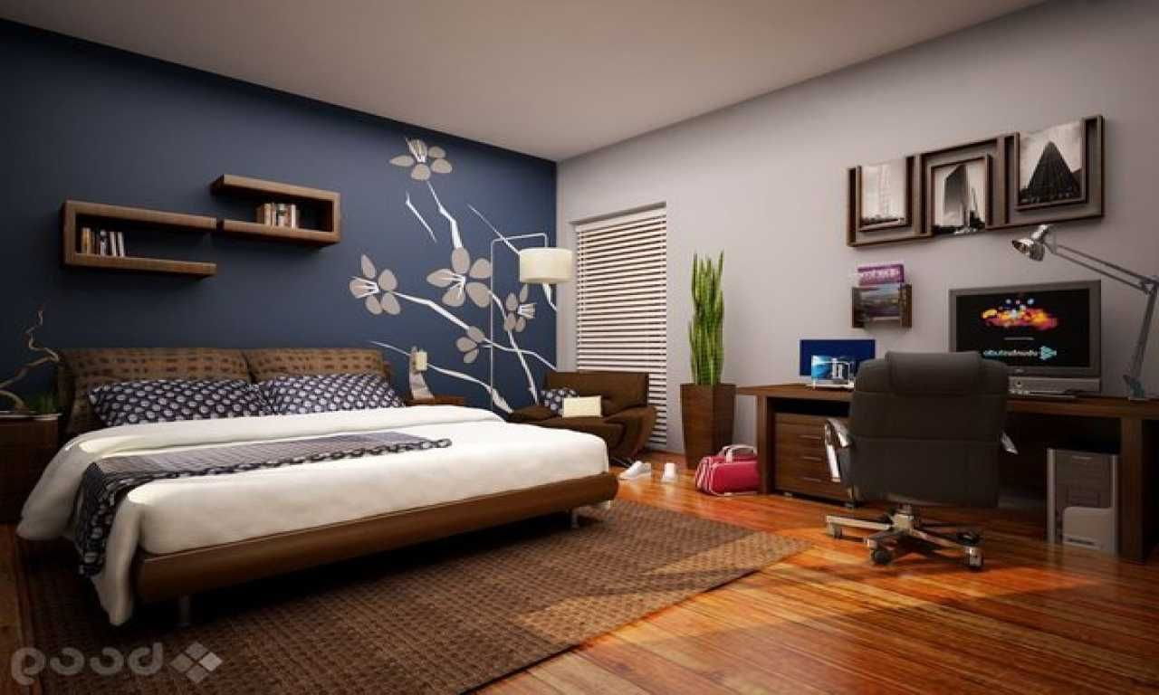 master bedroom accent wall colors