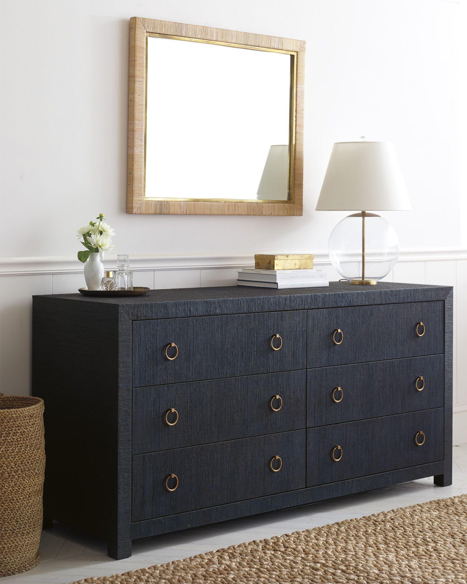 Blake raffia wide dresser wide dresser dresser and storage