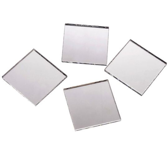 1 Square Mirrors Value Pack By Artminds Mirror Crafts Mirror Tiles Mirror Mosaic