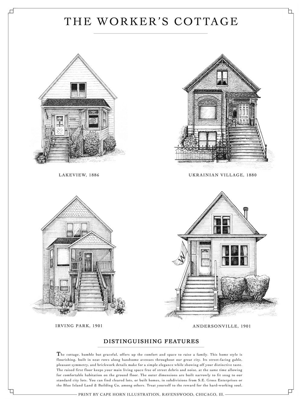 Catalogue Of Classic Chicago Home Styles Carriage House Plans Architecture Classic House