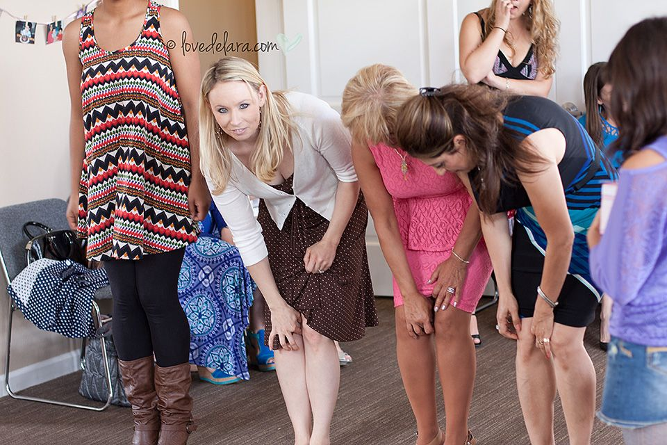 Baby Shower Game Give Each Participant A Coin And Have Them Walk
