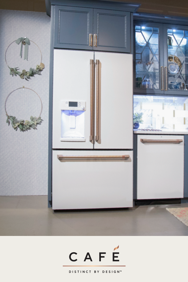 The Cafe Matte White Collection Offers A Timeless Clean Complement In Kitchens An White Kitchen Appliances Outdoor Kitchen Appliances Modern Kitchen Cabinets