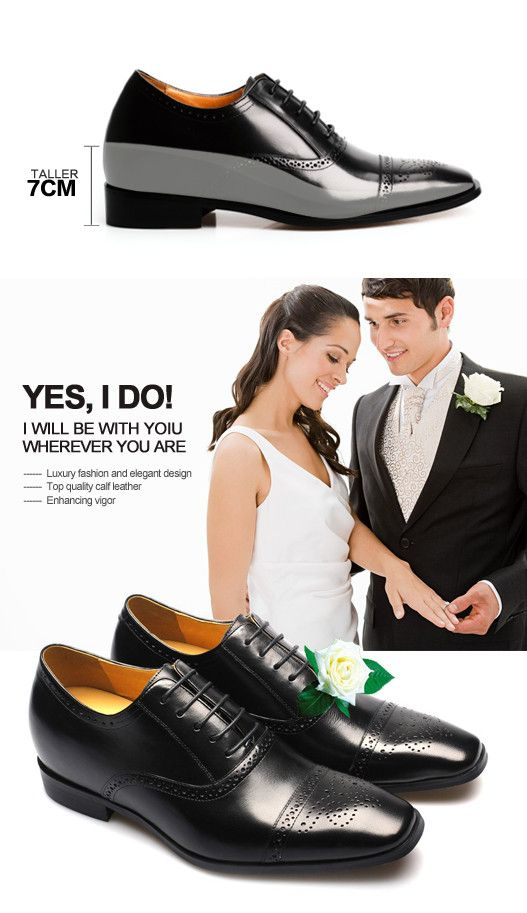 Short Man Shoes That Make You Taller 6 5cm 2 56inch From Topoutshoes S High Heel For Men Collections Pinterest