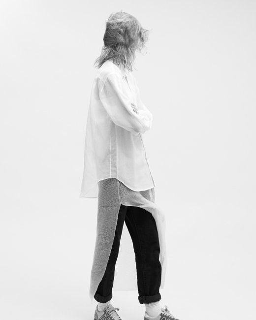 Oyster magazine, Model: Julia Fuchs / Photography: Ivan Ruberto / Fashion: Helen Rendell