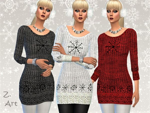 The Sims Resource: Winter CollectZ  V by Zuckerschnute20 • Sims 4