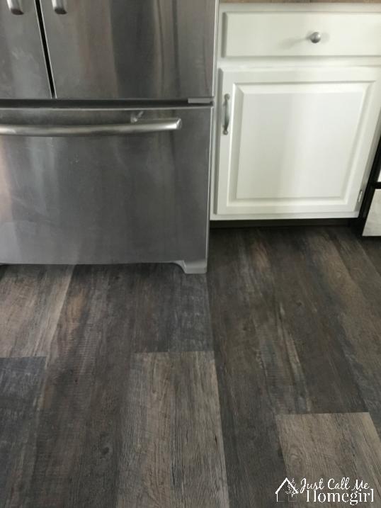 LifeProof Luxury Vinyl Plank Flooring in the Kitchen