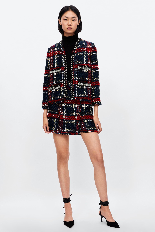 b4ebcd13 Bejeweled tweed blazer | 2018 4 | Tweed blazer, Blazer, Tweed