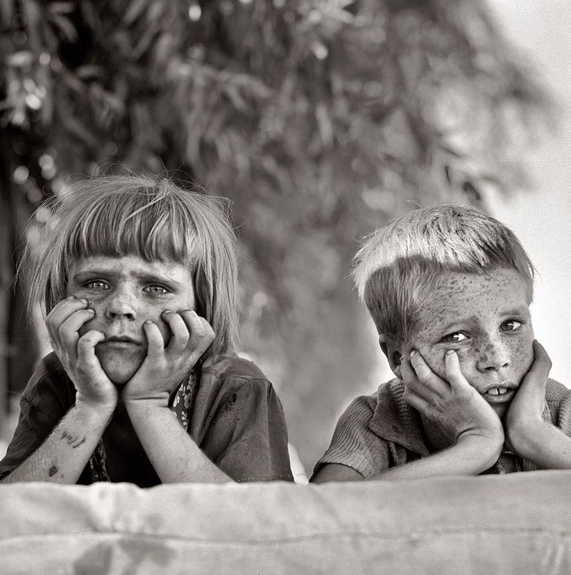 Dust Bowl Kids 1936 Dorothea Lange Photography Dorothea Lange Photojournalist