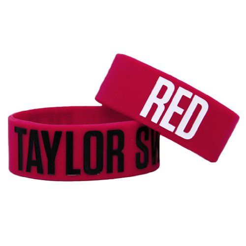 RED Rubber Bracelet $7.98 (20% OFF)