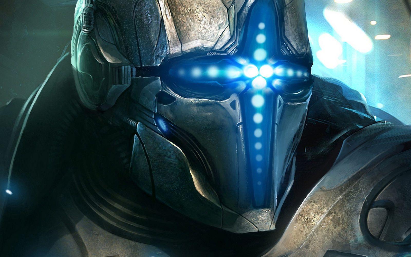 Future Cyborg 1 Helmet Concept Cyborg Soldier Helmet Hd wallpaper sci fi soldier helmet