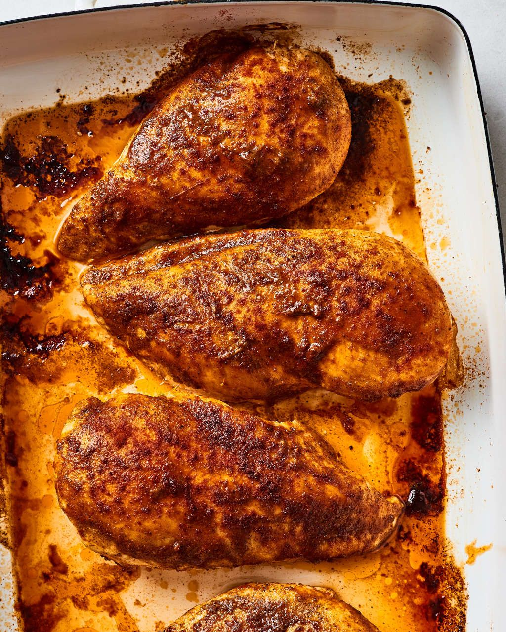 3-Ingredient Oven-Baked Cajun Chicken Breasts images