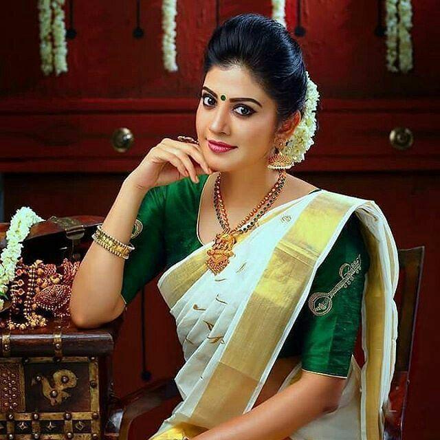 Kerala Saree Blouse Designs, Kerala Saree