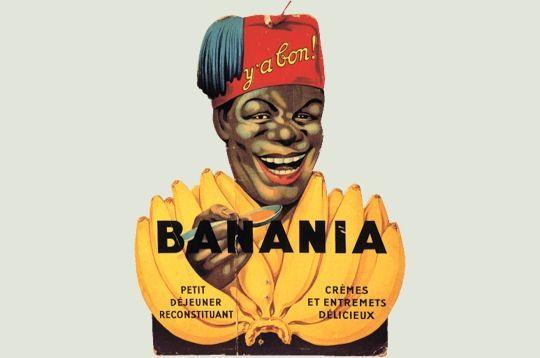 """La publicité Banania fait parti des souvenirs de tous, les jeunes et les moins jeunes. Le petit déjeuner revitalisant de l'africain souriant. Le premier symbole de la marque est une femme antillaise mais le célèbre tirailleur sénégalais est rapidement adopté en 1915, dans le contexte de la première Guerre Mondiale. La marque participe avec succès à l'Exposition coloniale internationale de 1931. Le slogan """"Y'a bon Banania"""" et le tirailleur sénégalais deviennent des références, inséparables…"""