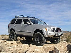 Lifted 2005 Jeep Grand Cherokee Pictures Mojave By American