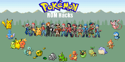 This Page Shows You A List Of Pokemon Hacked Roms That You