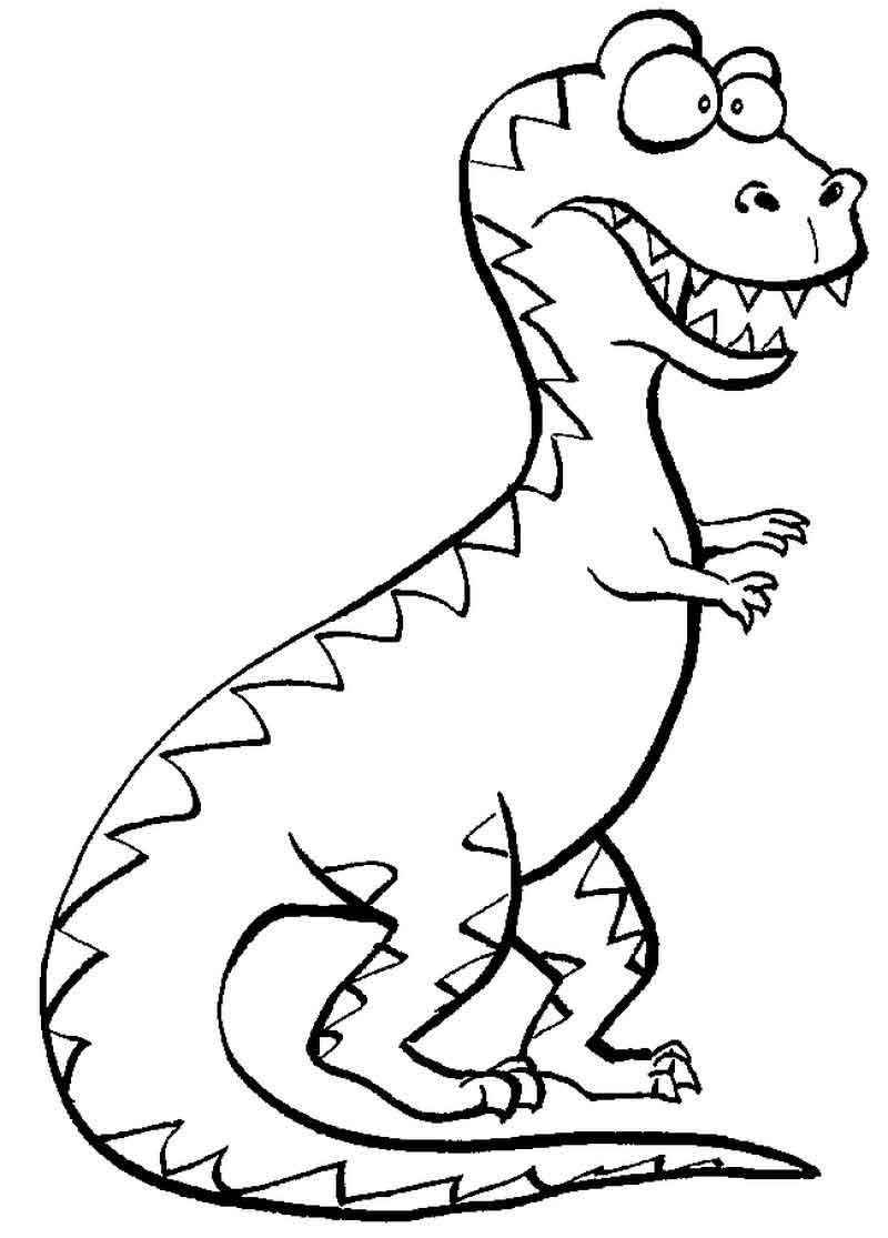 Funny Trex Coloring Page Dinosaur Coloring Pages Emoji Coloring Pages Animal Coloring Pages