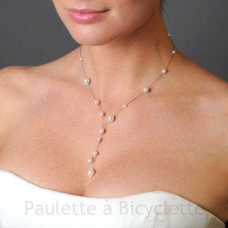 collier perle nacree mariage