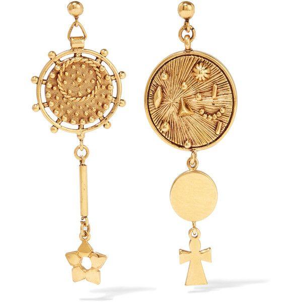 Chloé Gold-tone earrings (1 3ffa571fd