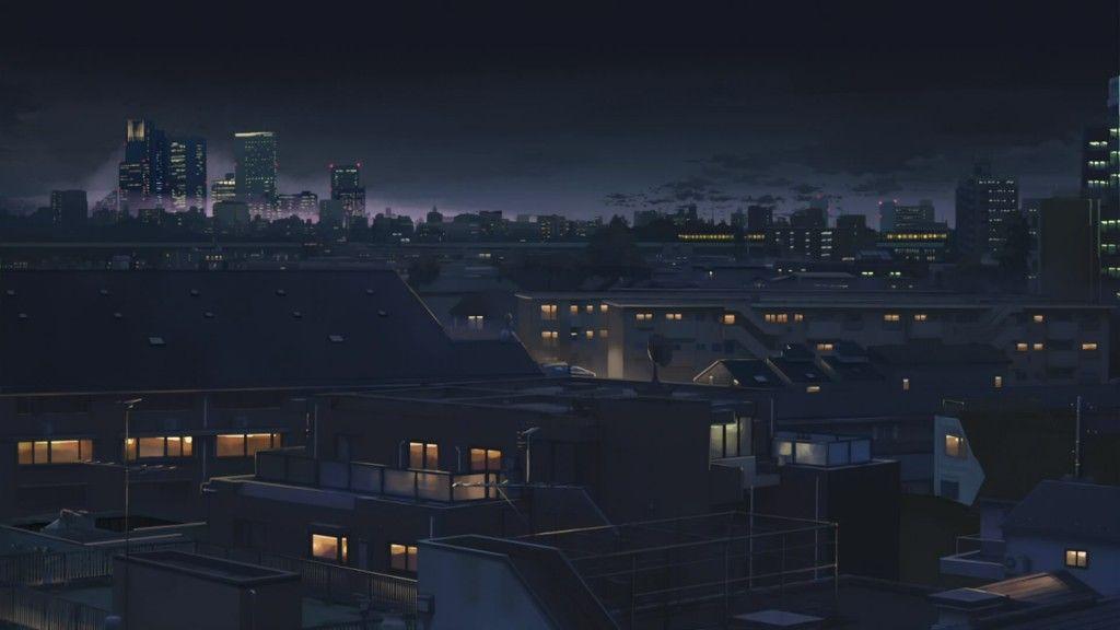 Anime City Desktop Wallpapers Pemandangan Anime Latar Belakang Pemandangan